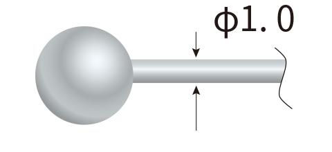 球サイズ MAX φ3.5