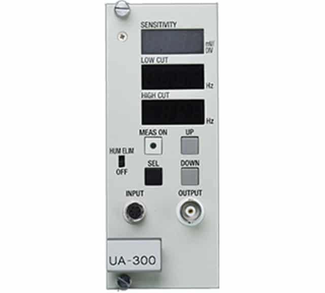 BF型広帯域生体信号アンプ UA-300