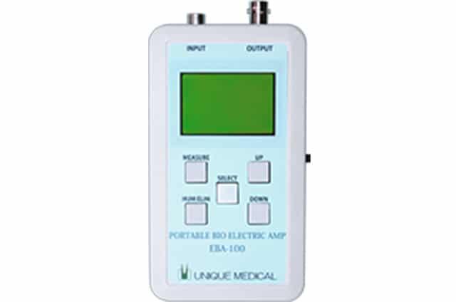 ポータブル生体信号アンプ EBA-100