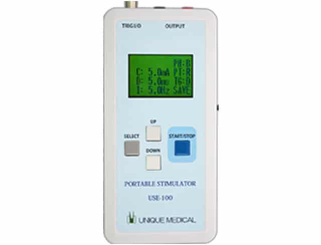 ポータブル定電流刺激装置 USE-100